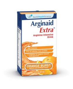 Arginaid Extra, Orange Burst, 8 fl oz, 27/cs (150 cs/plt) (Minimum Expiry Lead is 90 days)