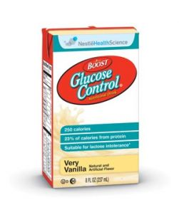 Boost® Glucose Control, Chocolate, 8 oz, Tetra Brik, 27/cs (150 cs/plt) (Minimum Expiry Lead is 90 days)