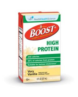 High Protein, Vanilla, 8 fl oz Btl, 27/cs (150 cs/plt) (Minimum Expiry Lead is 90 days)
