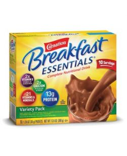 Carnation® Instant Breakfast, Chocolate, 10/bx, 6 bx/cs (Minimum Expiry Lead is 90 days)