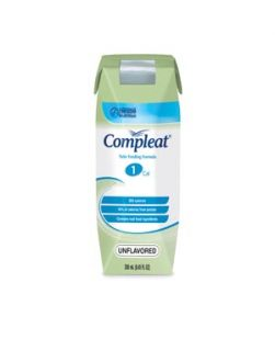 Compleat® Blenderized, Unflavored, 250mL Cans, 24/cs (Minimum Expiry Lead is 90 days)