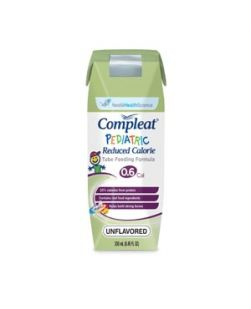 Compleat® Pediatric, Reduced Calorie, 250mL Cans, Unflavored, 24/cs (144 cs/plt) (Minimum Expiry Lead is 90 days)