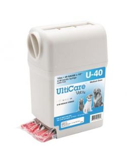 UltiGuard U-40 Syringe Dispenser, 29G x ½, 1/2cc, 100/bx