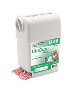 UltiGuard U-40 Syringe Dispenser, 29G x ½, 1cc, 100/bx