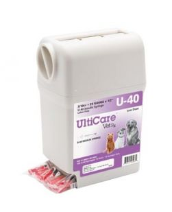 UltiGuard U-40 Syringe Dispenser, 29G x ½, 3/10cc, 100/bx