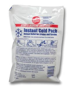 Cold Pack, Instant, Non-Sterile, 4 x 5, 50/cs