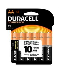 Battery, Alkaline, Size AA, Recloseable, 12pk, 12 pk/cs (UPC# 77564)
