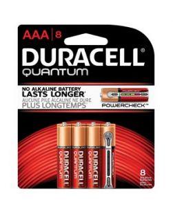 Battery, Alkaline, Size AAA, 8pk, 10pk/bx, 4 bx/cs (UPC# 66253)