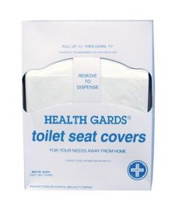 Toilet Seat Cover, Quarter Fold, 200/pk, 25 pk/cs