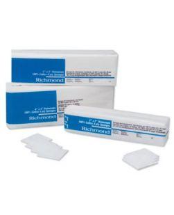 Non-Woven Cotton Sponge, 2 x 2, 4-Ply, Non-Sterile, 200/slv, 25 slv/cs