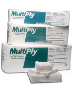 MultiPly Non-Woven Rayon/ Poly Sponge, 2 x 2, 8-Ply, Non-Sterile, 100/slv, 30 slv/cs