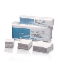 Non-Woven Rayon/ Poly Sponge, 2 x 2, 4-Ply, Non-Sterile, 200/slv, 25 slv/cs (48 cs/plt)