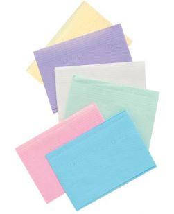 Towel, 2-ply Paper, Poly, 18 x 13, Blue, 500/cs