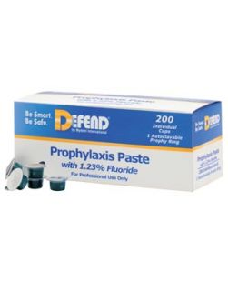 Prophy Paste, Coarse-Assorted, 200 cups/bx