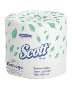 Coreless Bathroom Tissue, 1500 Sheet, 2-Ply, 3.85 x 4.05, 18/cs