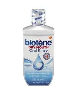 Biotène Dry Mouth Oral Rinse, Fresh Mint, 8 oz. bottle, 3/pkg, 4 pkg/cs (12 bottles total) (Available for sale in US only) GSK# 80225C (Products cannot be sold on Amazon.com or any other third Party sites.)