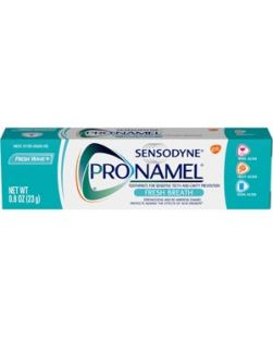 ProNamel® Fresh Breath Toothpaste, 0.8 oz. tube, 12/pkg, 3 pkg/cs (36 tubes total) (240 cs/plt) (Available for sale in US only) GSK# 83075B (Products cannot be sold on Amazon.com or any other third Party sites.)
