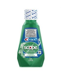 Scope Mouthwash, Classic Original Mint, 36ml, 180/cs