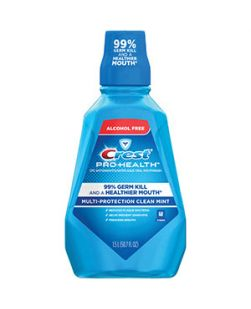 Crest ProHealth Rinse, Clean Mint, 1.5 lt, 6/cs