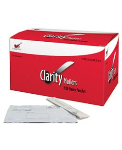 Clarity Specimen Collection Mailer Kit, Includes: (50) Envelopes, (50) Collection Papers, (50) Instruction Sheets, For Use with Clarity FIT Testing Kits, 50/bx