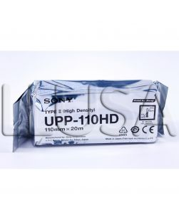 Ultra Sound Paper, Sony Equivalent Ultrasound Paper, UPP-110HD, 240 Prints, 10 rl/cs