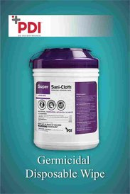 Germicidal Disposal Wipe